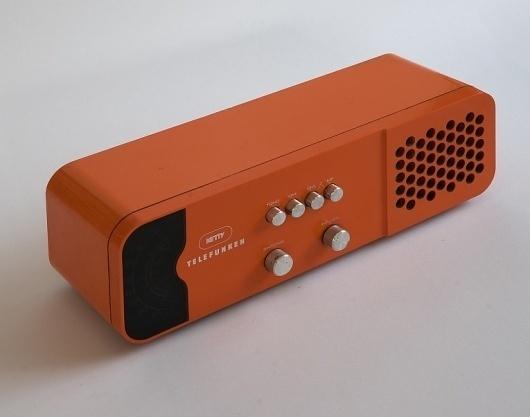 Product Design of the 60's and 70's - JOQUZ #70s #retro #design #telefunken