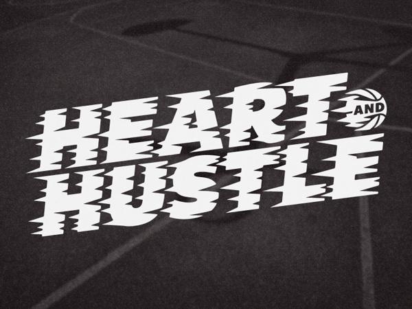 Heart And Hustle on Behance #heart #hustle #graphic #shirt #orlando #magic #tee #basketball