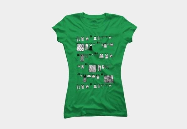 Laundry Doodle #laundry #doodle #shirts