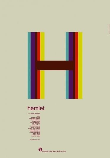 original_162879_V6ZvE5OP8dFOiT0eG9Xjh0nCm.jpg (726×1037) #theater #letter #hamlet #poster #type
