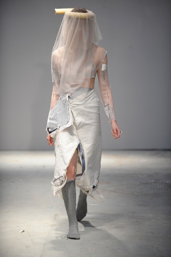 Womenswear by Georgina Johnson and Textiles by Jin Kim. Photo credit Roger Dean