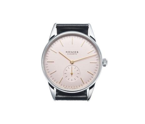 NOMOS Glashütte: Orion rosé #design #restrained #style #watch