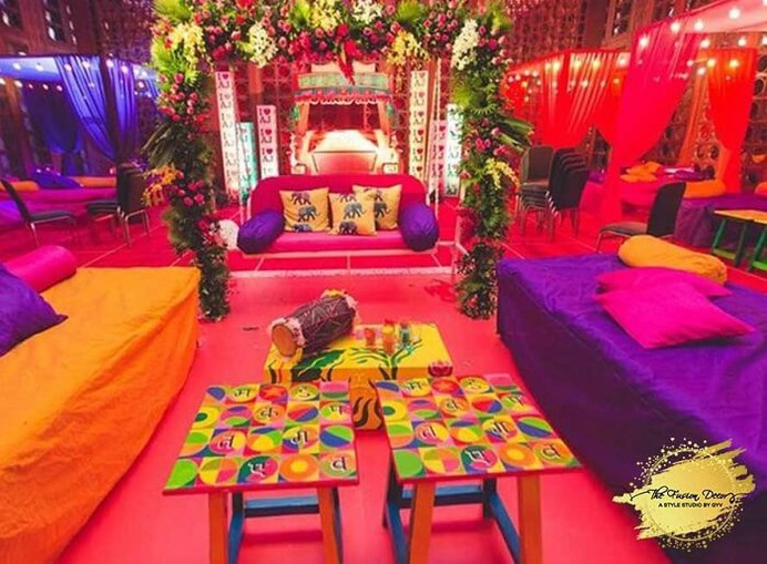 Awesome Home Decoration Ideas for Mehndi Ceremony That Are Chic and Easy to Do!