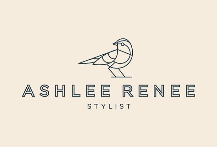 Ashlee Renee by Mast #logo #typography #vector #bird