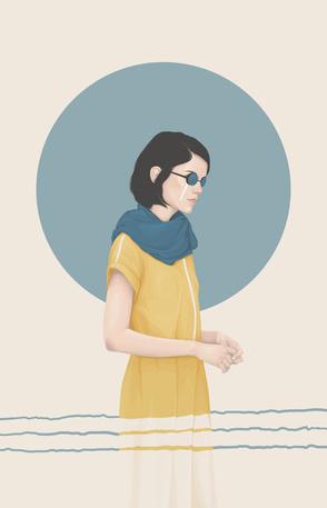 Illustration by Yuschav Arly #fashion #illustration