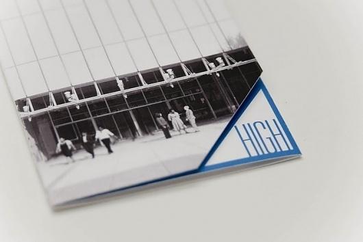High Museum Identity Brochure #history #museum #atlanta #system #identity #art #logo #brochure