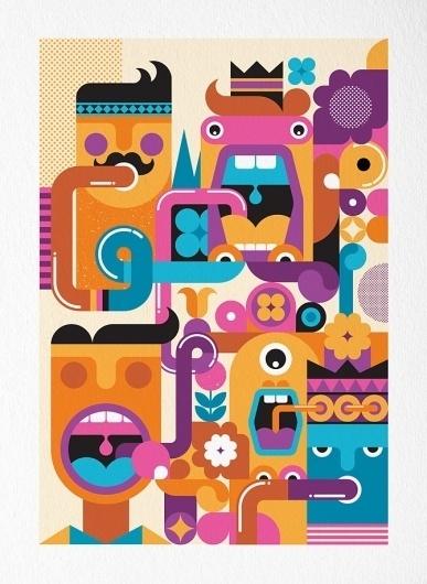 Gift of the Gab - Fernando Volken Togni #illustration