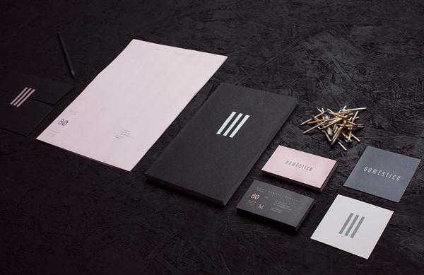 Doméstico   Manifiesto Futura #design #graphic #identity #stationery #logo