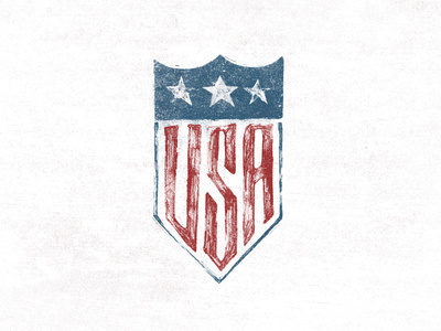 U.S.A. Seal #lettering #design #graphic #usa #typography