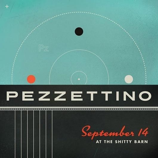 GigPosters.com - Pezzettino #poster #typography