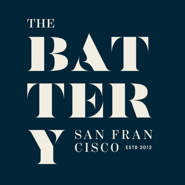 New Logo and Identity for The Battery by MM #typography #logo #serif #brand #california #san francisco #navy blue
