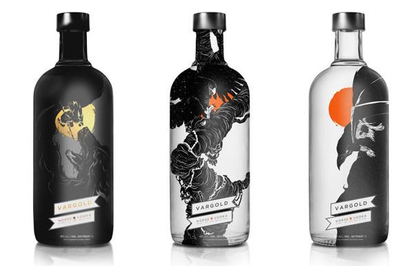 vargold #packaging #drink #label #bottle