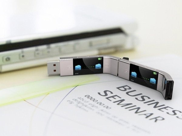 The U Transfer USB stick will function without the need of a computer. You will be able to transfer files from anywhere. #design #product #p