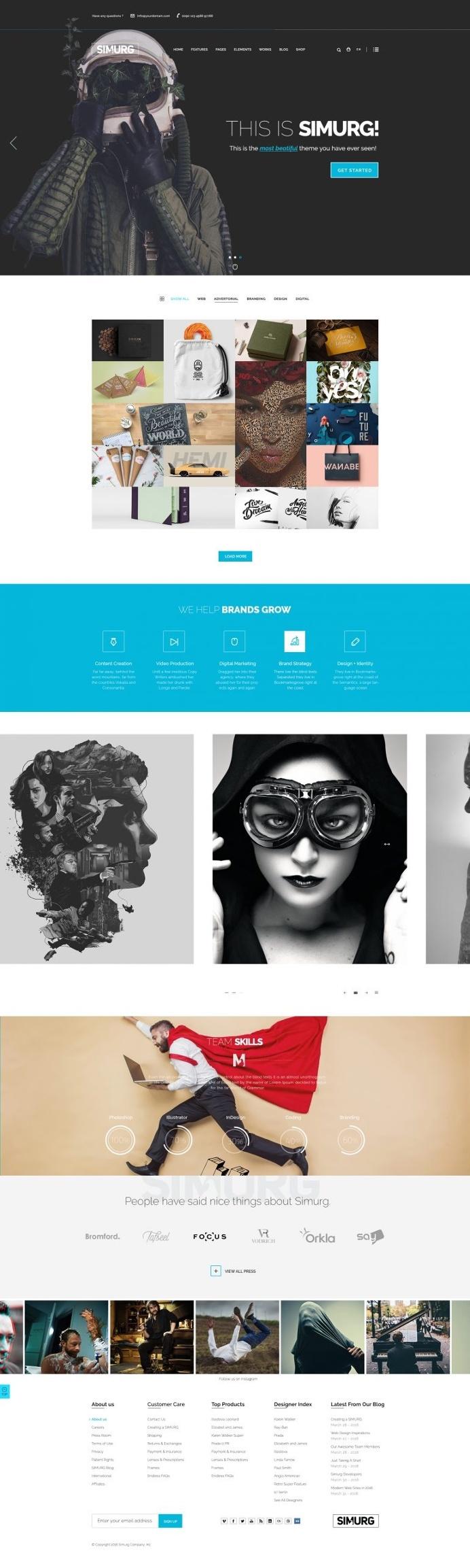 Simurg – Multi Concept Theme