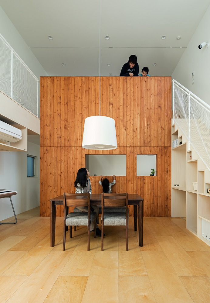 Two Walls One House by Fumiko Takahama Architects