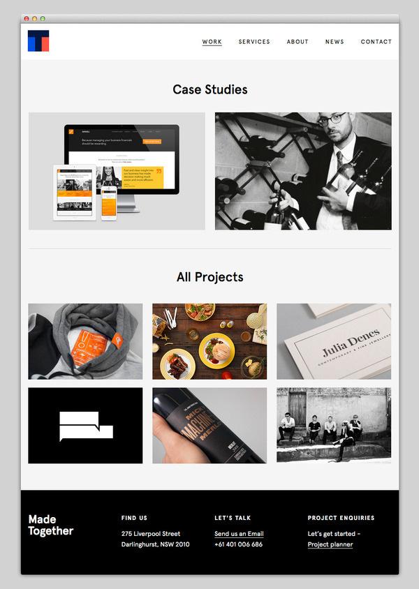 Made Together #website #layout #design #web
