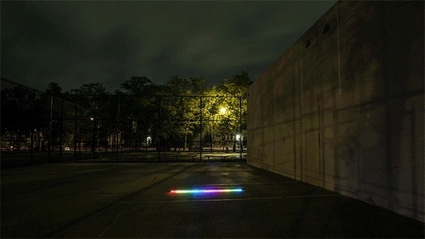 Pixelstick | Light painting evolved #color #exposure #trail #night #gif #rainbow #light