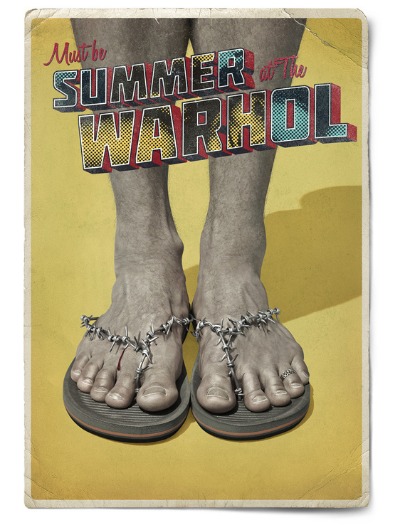 Creative Review Andy Warhol Museum campaign turns up the heat #ads #andy #pop #warhol #advertising #art #museums