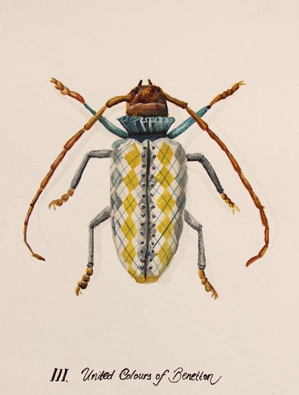Urban Bugs on Behance #paint #bugs