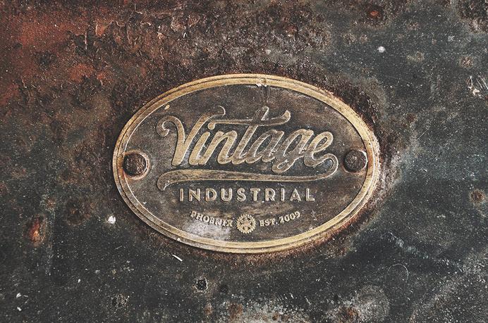Forefathers group via www.mr-cup.com #logo #industrial #vintage