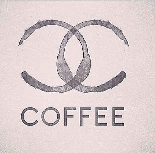 Chanel Coffee Author Unknown #coffee #logo #chanel