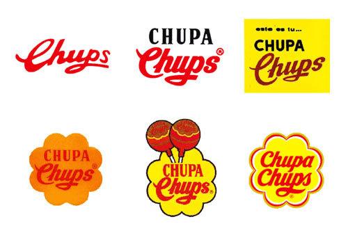Chupa Chups logo evolution #chupa #chups