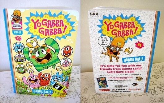 All sizes | Gabba ball! PROOF. | Flickr - Photo Sharing! #print #yo #gabba #book #comic #kids #cartoon