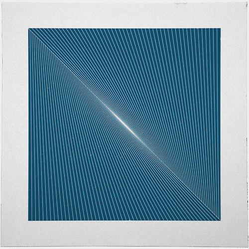 #254 Dawn– A new minimal geometric composition each day