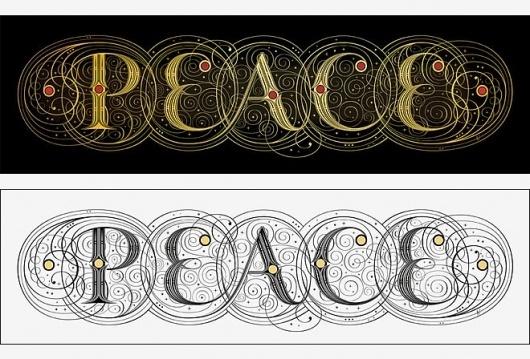 http://www.seblester.co.uk/ #peace #illumination #penmanship