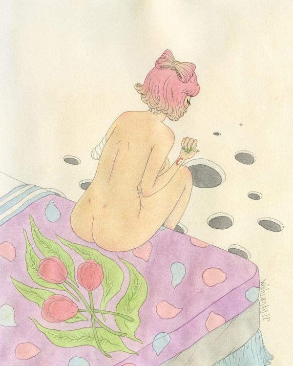 Yesterday - Wishcandy #illustration #wishcandy #art