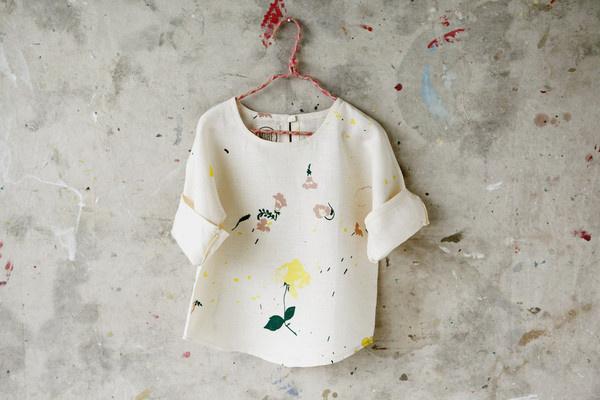 Wild, Natural, Free Kids' Smock #fashion #blouse #kids