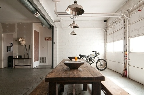 CJWHO ™ (Eclectic Interior by Lucy Call) #white #hipster #design #interiors #photography #architecture #bike #luxury