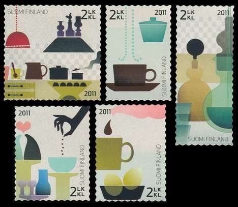 Click For Larger REPRESENTATIVE Image #stamps #kitchen #design #illustration