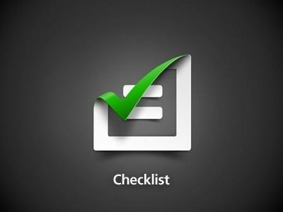 Checklist #icon #app #gradient #logo #checklist