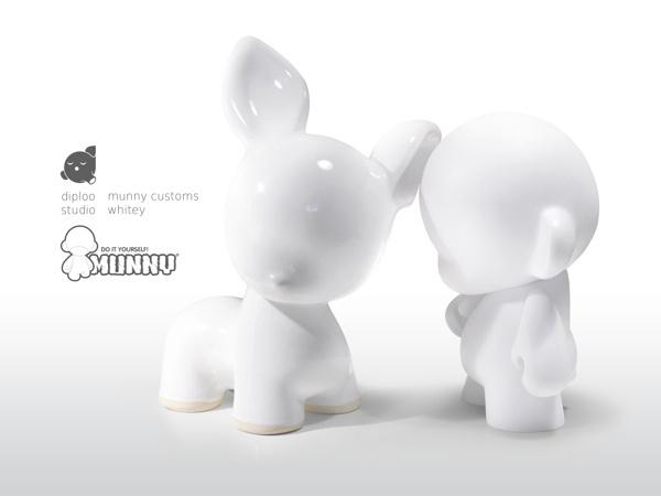 Diploo Studio Munny Customs #diploo #toys #kidrobot #munny #art #made #ceramic #hand #customs