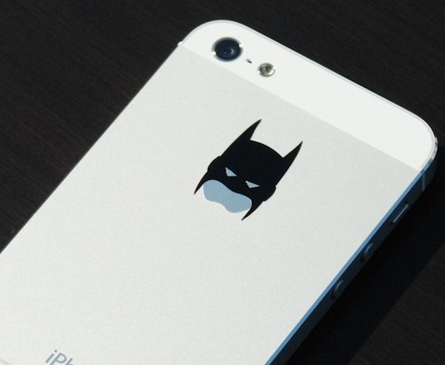 Batman iPhone Decal #cool gadget #gadget #gadget flow #gift ideas #tech