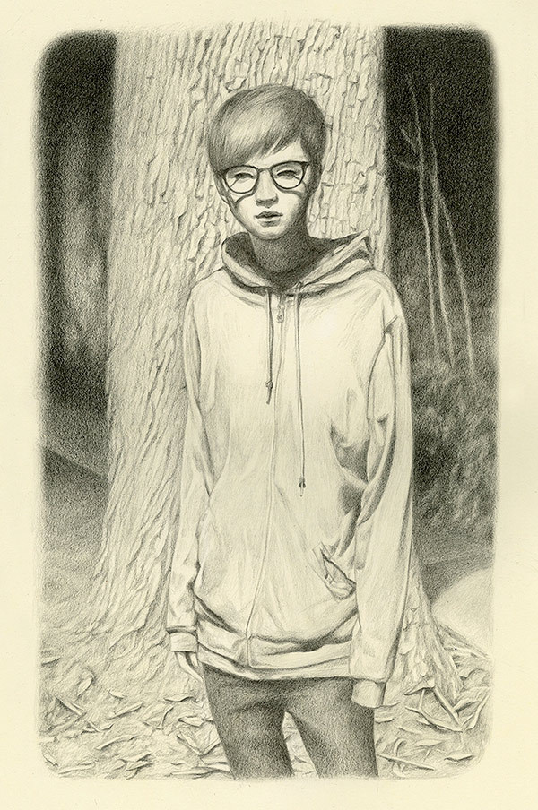Art by Joanne Nam #pose #hoodie #illustration #painting #art #drawing #sketch