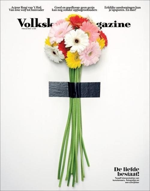 krista van der niet for volkskrant. #cover #botanical #layout #editorial