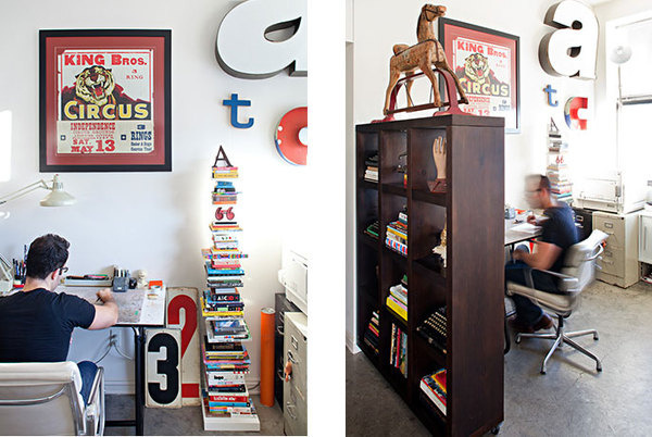Tad Carpenter's office space #office #real #tad #carpenter #life