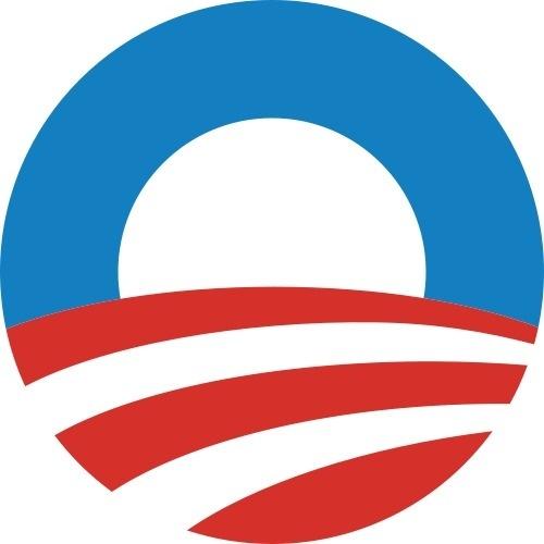 Obama logomark #political #hope #america #election #logo #obama