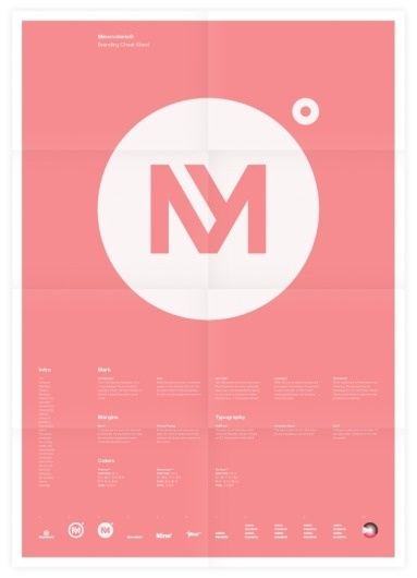 Universal Branding System (Minervalerio) Poster #inspiration #creative #design #graphic #grid #system #poster #typography