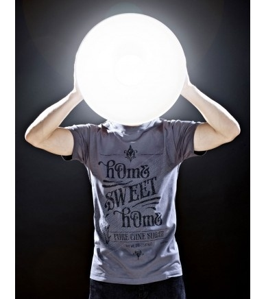 SUGAR-M CHARCOAL / black,grey - hOme watches and more #round #home #shirt #sweet #light #grey