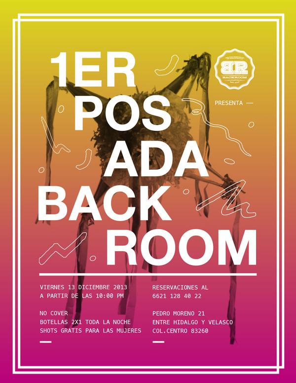 best flyers posada poster flyer images on designspiration
