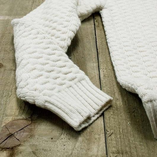 Svensson Cloud Knit Jacket | Inqmind #knitwear