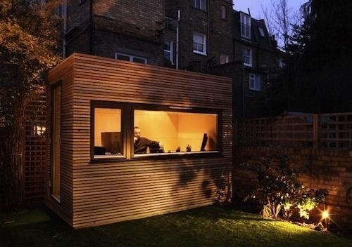 The Rise of the Backyard Office | Design Milk #backyard #workpod #office #workspace #outside