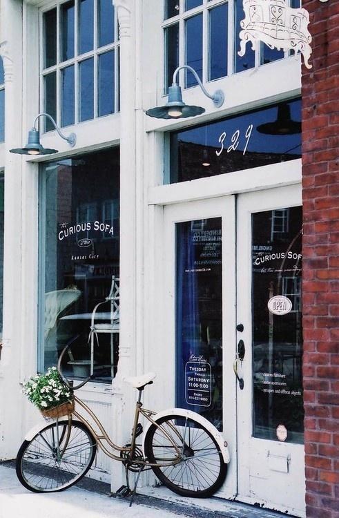 Tumblr #shop #white #bike