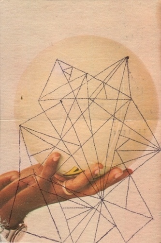 WAFA Postcard | Flickr - Photo Sharing! #postcard #collage #hand #geometric