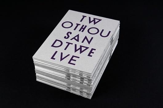 News : T W O #print #design #graphic