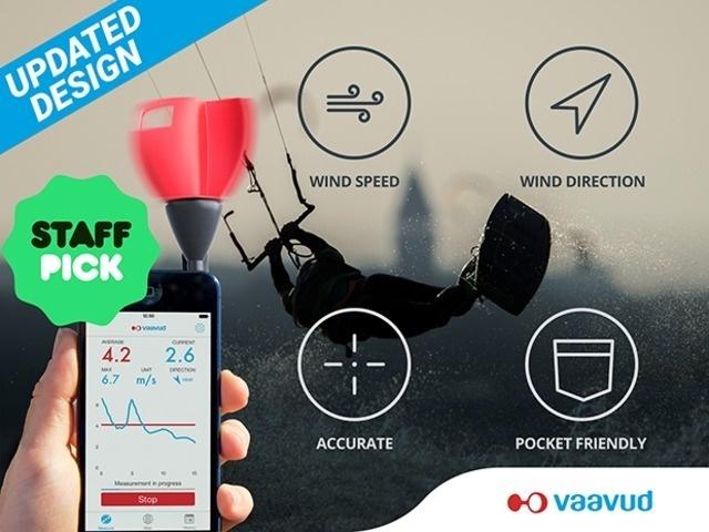 Vaavud wind meter V 2.0 #tech #flow #gadget #gift #ideas #cool