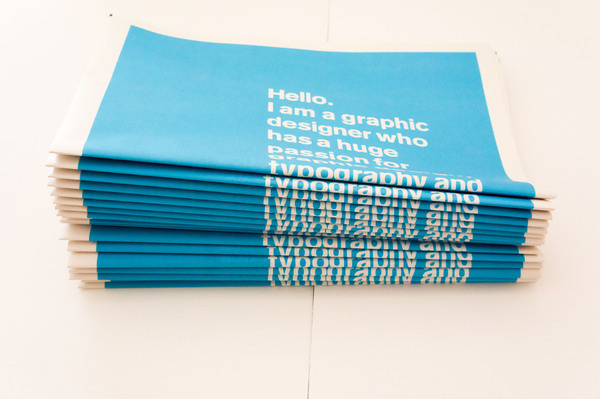 Janson Creative #news #cyan #print #sheet #broad #typography